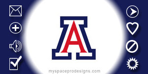 Arizona Wildcats ncaa contact table by Uday