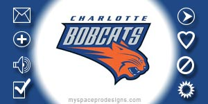 Charlotte Bobcats nba contact table by Uday