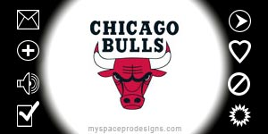 Chicago Bulls nba contact table by Uday