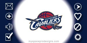 Cleveland Cavaliers nba contact table by Uday