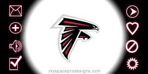 Atlanta Falcons nfl contact table by Uday