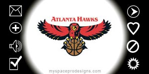 Atlanta Hawks nba contact table by Uday
