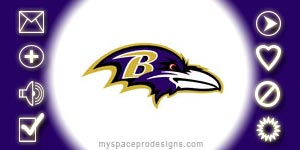 Baltimore Ravens nfl contact table by Uday