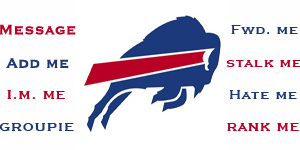 Buffalo Bills nfl contact table by Urmom